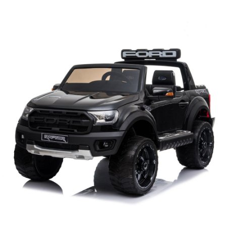 Mini Caminhonete Elétrica Ford Raptor Preta BW121 Importway