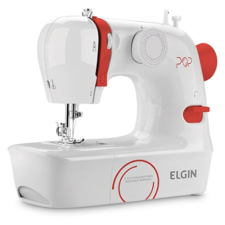 Maquina de Costura Portátil 9 Pontos POP BL1009 Elgin Bivolt