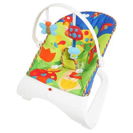 Cadeirinha Bebê Descanso Vibratória Musical Importway BW095AZ