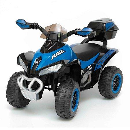 Mini Quadriciclo Elétrico Infantil 6V BW129 AZ Importway