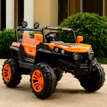 Quadriciclo Infantil Eletrico Laranja BW085LA 12v Importway
