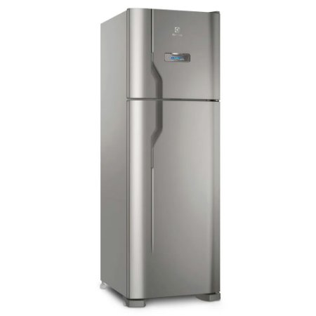 Refrigerador Frost Free Inox 371L Electrolux DFX41 110v