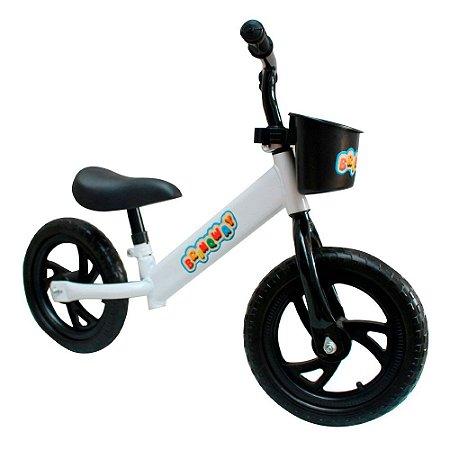 "Bicicleta Sem Pedal 12"" Importway Balance BW152BR Branco"