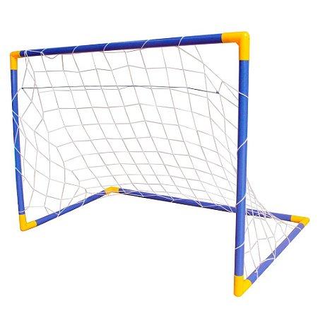 Trave Infantil Para Futebol 78x107cm BW145 Importway