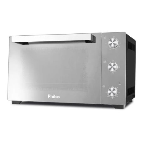 Forno Elétrico Philco 1500W PFE50PE Full Glass 50l 110v