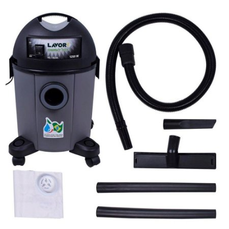 Aspirador De Pó E Liquido Lavor Compact Eco 22 1250W 220v