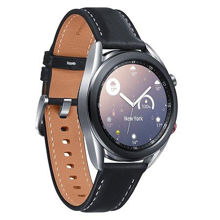 Smartwatch Samsung Galaxy Watch 3 LTE Prata 41mm 8GB