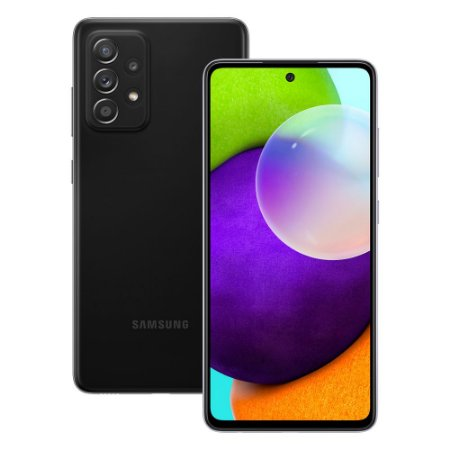Smartphone Samsung Galaxy A52 6GB 128GB Awesome Black