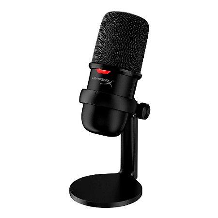 Microfone HyperX Solocast USB PS4 Mac PC HMIS1X-XX-BK/G