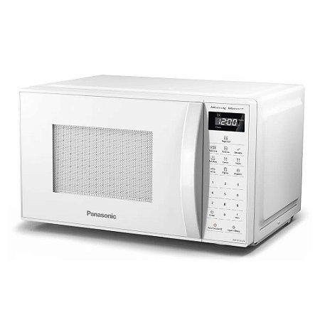 Micro-ondas 21 Litros Panasonic Antiaderente NN-ST25LWRUK Branco 220v
