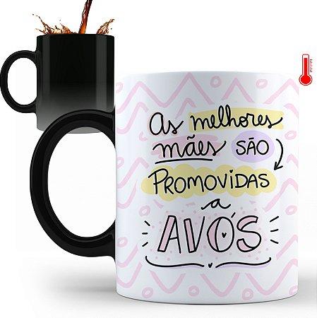 Caneca Personalizada As Melhores Mães São Promovidas A Avós (Com Nome)