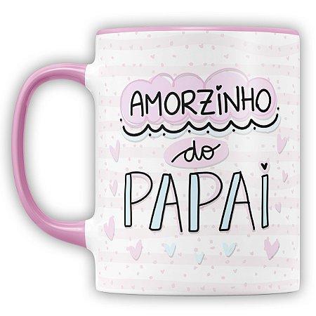 Caneca Personalizada Amorzinho Do Papai (Com Foto e Nome)