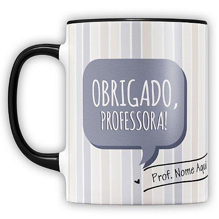 Caneca Personalizada Professor (com Nome) (mod.1)