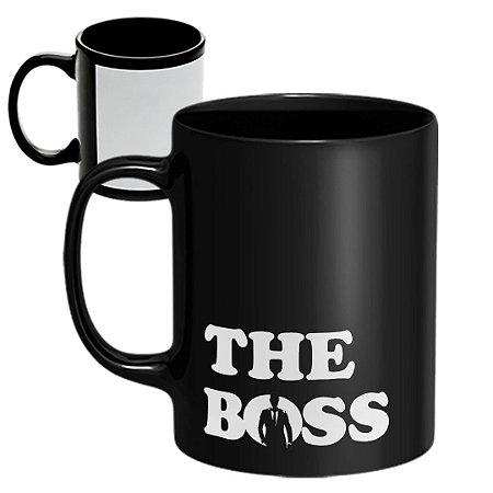Caneca Personalizada The Boss (Com Nome)