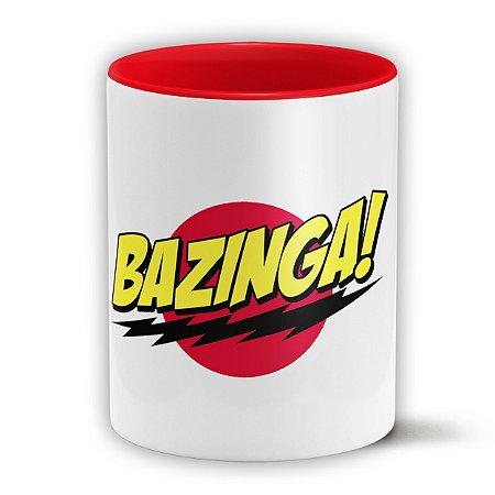 Caneca Personalizada The Big Bang Theory Bazinga! (Com Nome)