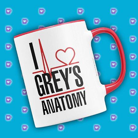 Caneca Personalizada Grey's Anatomy (Com Nome) (mod.1)