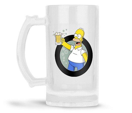 Caneca Chopp Personalizada Homer Simpson (Com Nome)