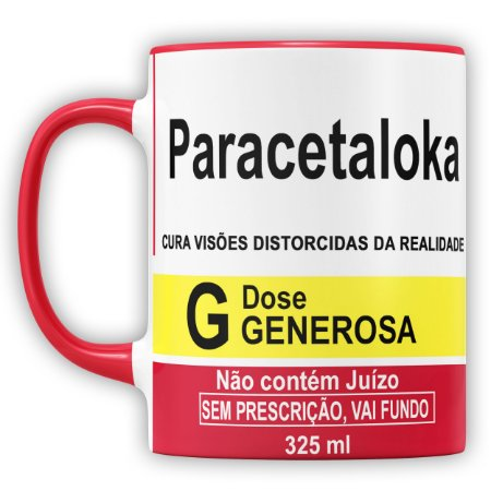 Caneca Personalizada Paracetaloka (Com Nome)