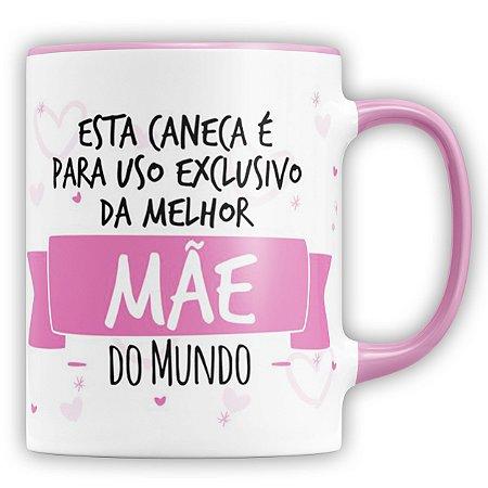 Caneca Personalizada Para A Melhor Mãe Do Mundo (Foto e Nome)
