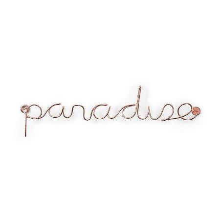 Adorno de Parede Paradise Umbra - Cobre