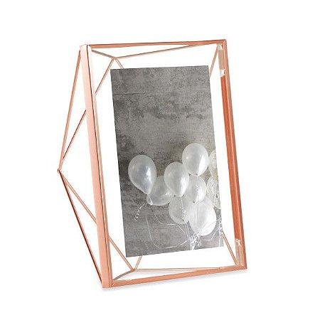 Porta Retrato Prisma Umbra 13x18cm - Cobre