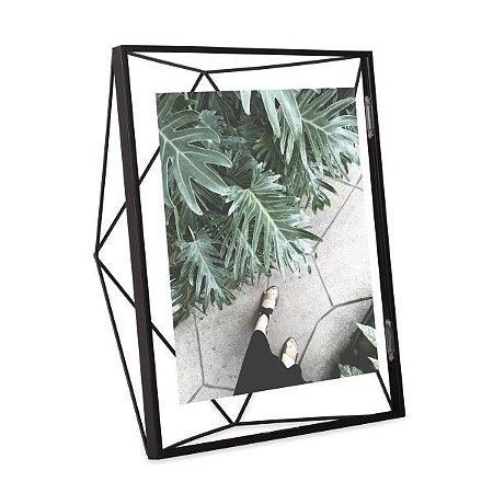 Porta Retrato Prisma Umbra 13x18cm - Preto