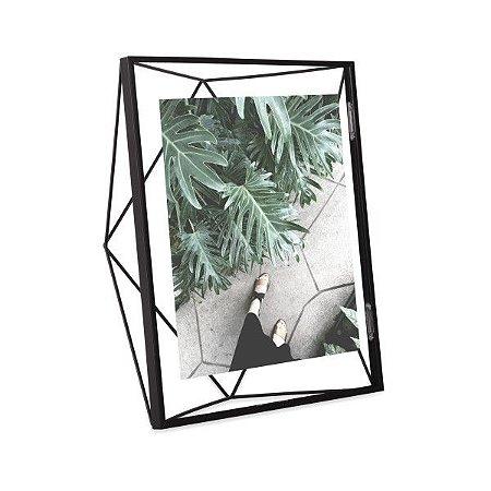 Porta Retrato Prisma Umbra 20x25cm - Preto