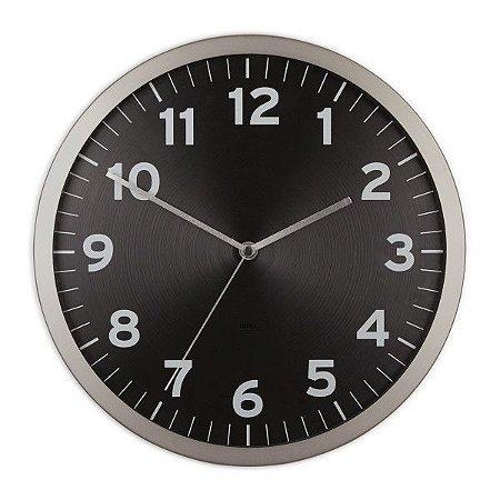 Relógio de Parede Anytime Umbra - Preto