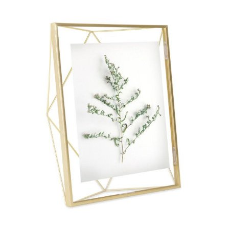 Porta Retrato Prisma Umbra 20x25cm - Dourado