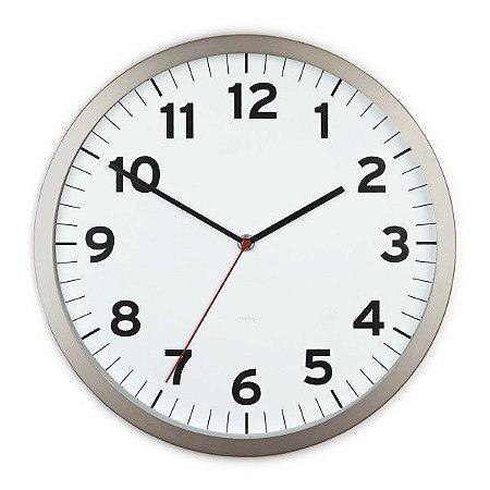 Relógio de Parede Anytime Umbra - Branco