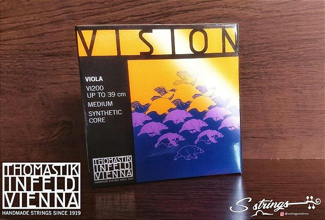 Cordas Viola Thomastik Vision V200