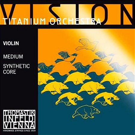 Cordas Violino  Thomastik Vision Titanium Orchestra