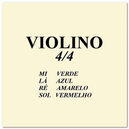 Cordas Violino Mauro Calixto