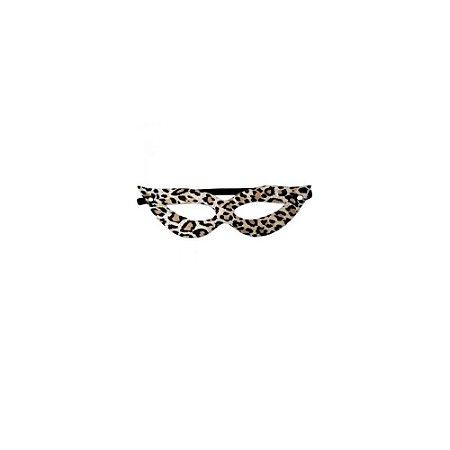 Máscara Feminina em Couro - Onça - Coleção Sado