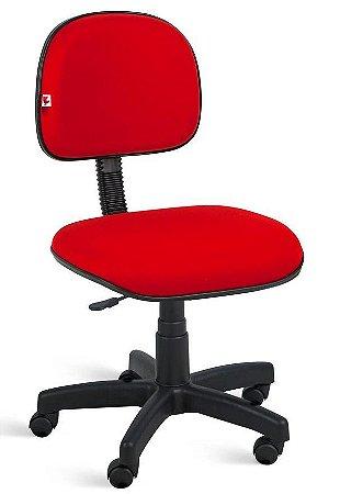 """Cadeira Secretaria com """"L"""" Sanfonado Base Giratória a Gás"""