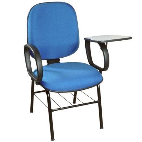 Cadeira Universitária Diretor com prancheta escamoteável