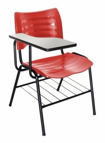 Cadeira Universitária Masticmol com prancheta fixa