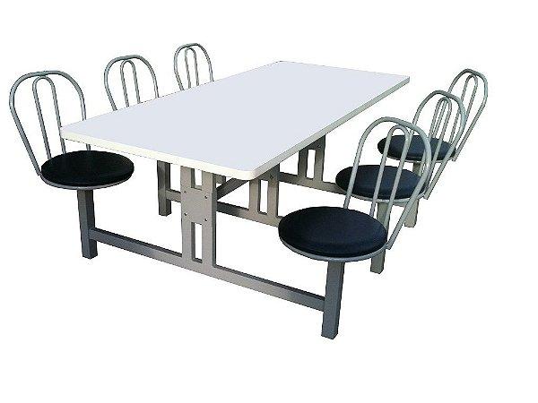 Mesa para refeitório MRA 712 G