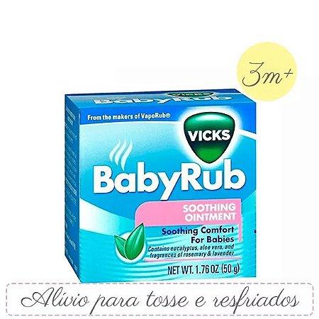 Baby Rub - Pomada Anti Tossi para Bebês - 50g
