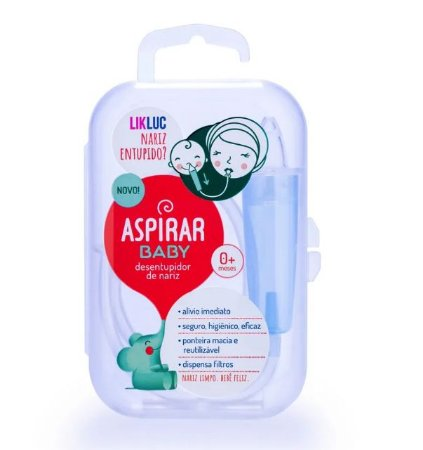 Aspirar Baby Aspirador Nasal Infantil Com Estojo