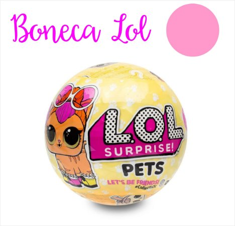 Bonecas Lol Surprise - vários modelos Série 3 - Candide