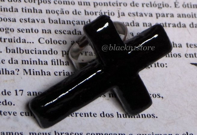 Anel Black Cross