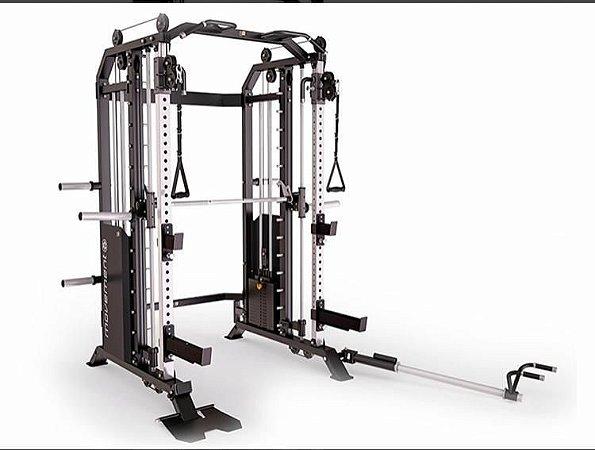 Estação de Musculação - Wire Cross Smith Rack - Movement NOVO