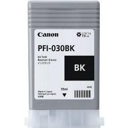Original PFI-030BK Cartucho de Tinta Canon PFI 030BK 3489C001AA Preto 55ml