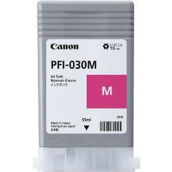 Original PFI-030M Cartucho de Tinta Canon PFI 030M 3491C001AA Magenta 55ml