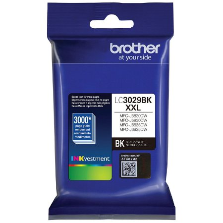 Original LC-3029BK Cartucho Brother Preto LC3029BK