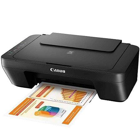 MG2510 - Multifuncional Canon Pixma, Impressora, Copiadora e Scanner.