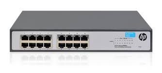 JH016A - 16Portas Switch Hp Gigabit OfficeConnect HPe 1420-16G Não Gerenciável