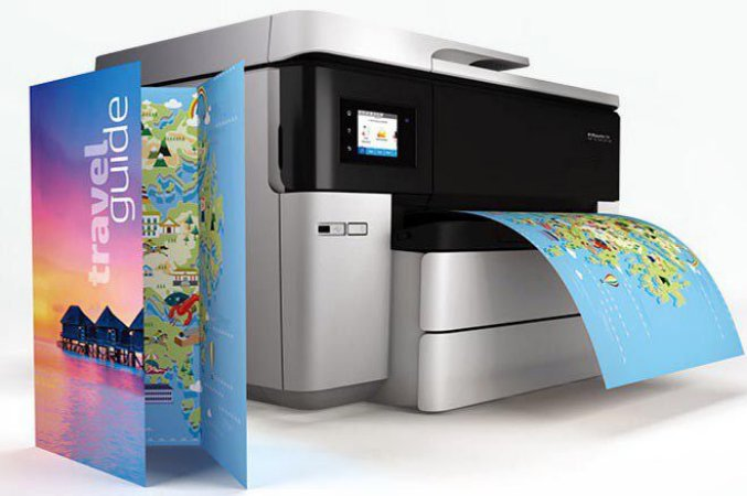 7740 Officejet HP Pro Multifuncional Jato de Tinta Colorida Formato A3