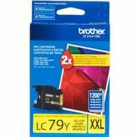 Cartucho Brother LC79Y-XXL Amarelo